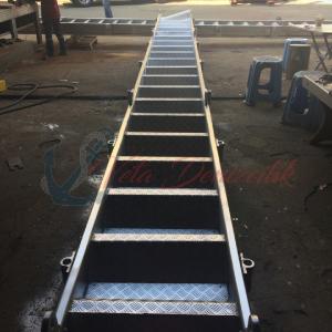 borda merdiveni, aliminyum borda merdiveni, merdiven sistemleri